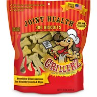 Grillerz Joint Health Biscuits Peanut Butter Flavor Dog Treats, 6-lb bag