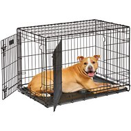MidWest LifeStages Double Door Dog Crate, 36-in