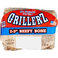 Grillerz Smoked Beefy Bones Dog Treats, Small