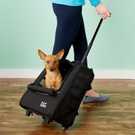 Pet Gear I-GO2 Escort Backpack & Rolling Pet Carrier