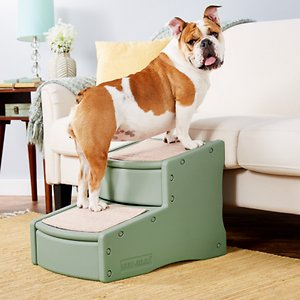 Pet Gear Easy Step II Cat & Dog Stairs, Sage