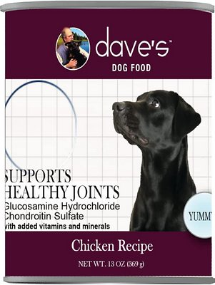 7. Dave's Pet Food Naturally Healthy Joint Formula Canned Dog Food