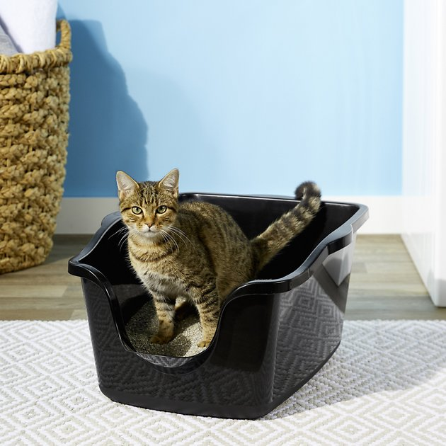 7. Nature's Miracle High Sided Cat Litter Box