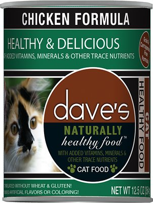 4. Dave's Pet Food Naturally Chicken Formula