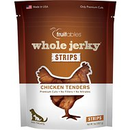 Fruitables Whole Jerky Roasted Chicken Tenders Dog Treats, 5-oz bag