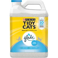 Tidy Cats Scoop Glade Tough Odor Solutions Clumping Cat Litter, 20-lb jug