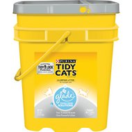 Tidy Cats Scoop Glade Tough Odor Solutions Clumping Cat Litter, 35-lb pail