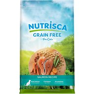Nutrisca Grain-Free Salmon Recipe Dry Cat Food, 4-lb bag