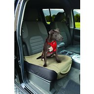 Kurgo Shorty Bucket Seat Cover, Khaki