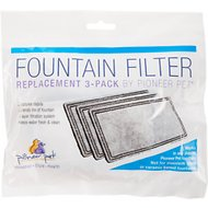 Pioneer Pet Replacement Filters for Plastic Raindrop & Fung Shui Fountains, 3 pack