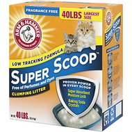 Arm & Hammer Litter Super Scoop Fragrance-Free Clumping Litter