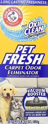 Arm & Hammer Litter Carpet & Room Pet Fresh Odor Eliminator, 30-oz - Chewy.com