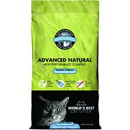 World's Best Cat Litter Advanced Natural Original Clumping Formula, 6-lb bag