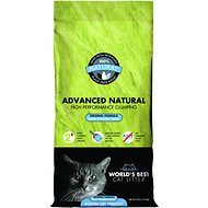 World's Best Cat Litter Advanced Natural Original Clumping Formula, 24-lb bag