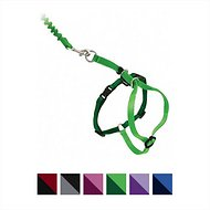 PetSafe Come With Me Kitty Harness & Bungee Cat Leash, Electric Lime/Green, Medium
