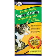 Four Paws Catnip Scratching Post, Extra Wide