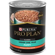 Purina Pro Plan Focus Puppy Classic Chicken & Rice Entree Canned Dog Food, 13-oz, case of 12