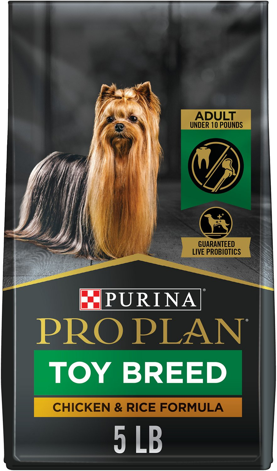 Purina Pro Plan Cat Food >> Purina Pro Plan Focus Adult Toy Breed Formula Dry Dog Food, 5-lb bag - Chewy.com