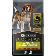 Purina Pro Plan Focus Adult Weight Management Formula Dry Dog Food, 34-lb bag