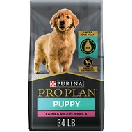 Purina Pro Plan Focus Puppy Lamb & Rice Formula Dry Dog Food, 34-lb bag