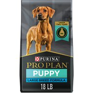 Purina Pro Plan Puppy Large Breed Chicken & Rice Formula with Probiotics Dry Dog Food, 18-lb bag