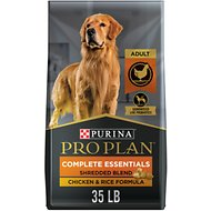 Purina Pro Plan Savor Adult Shredded Blend Chicken & Rice Formula Dry Dog Food, 35-lb bag