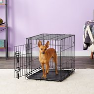 Four Paws Deluxe Single Door Dog Crate, X-Small