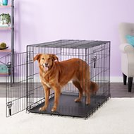 Four Paws Deluxe Double Door Dog Crate, Large