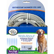 Four Paws Heavy Weight Overhead Trolley Exerciser, 75-ft