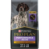 Purina Pro Plan Sport All Life Stages Performance 30/20 Formula Dry Dog Food, 37.5-lb bag