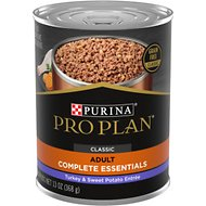 Purina Pro Plan Natural Adult Grain-Free Classic Turkey & Sweet Potato Entree Canned Dog Food, 13-oz, case of 12
