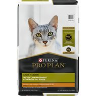 Purina Pro Plan Focus Adult Weight Management Chicken & Rice Formula Dry Cat Food, 16-lb bag