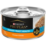Purina Pro Plan Focus Adult Urinary Tract Health Formula Chicken Entree in Gravy Canned Cat Food, 3-oz, case of 24