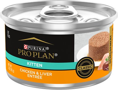 3. Purina Pro Plan Focus Kitten Classic Canned Cat Food