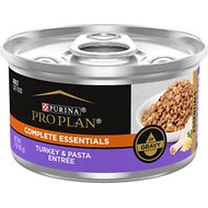 Purina Pro Plan Savor Adult Turkey & Pasta Entree in Gravy Canned Cat Food, 3-oz, case of 24