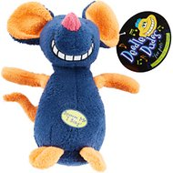 Multipet Deedle Dude Singing Plush Dog Toy, Mouse
