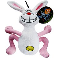 Multipet Deedle Dude Singing Plush Dog Toy, Rabbit