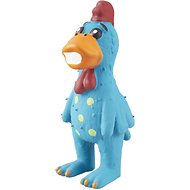 Multipet Latex Polka Dot Globken Chicken Dog Toy, Color Varies, Large