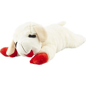 Multipet Lamb Chop Squeaky Plush Dog Toy