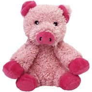 Multipet Look Who's Talking Pig Plush Dog Toy