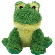 Multipet Look Who's Talking Frog Plush Dog Toy