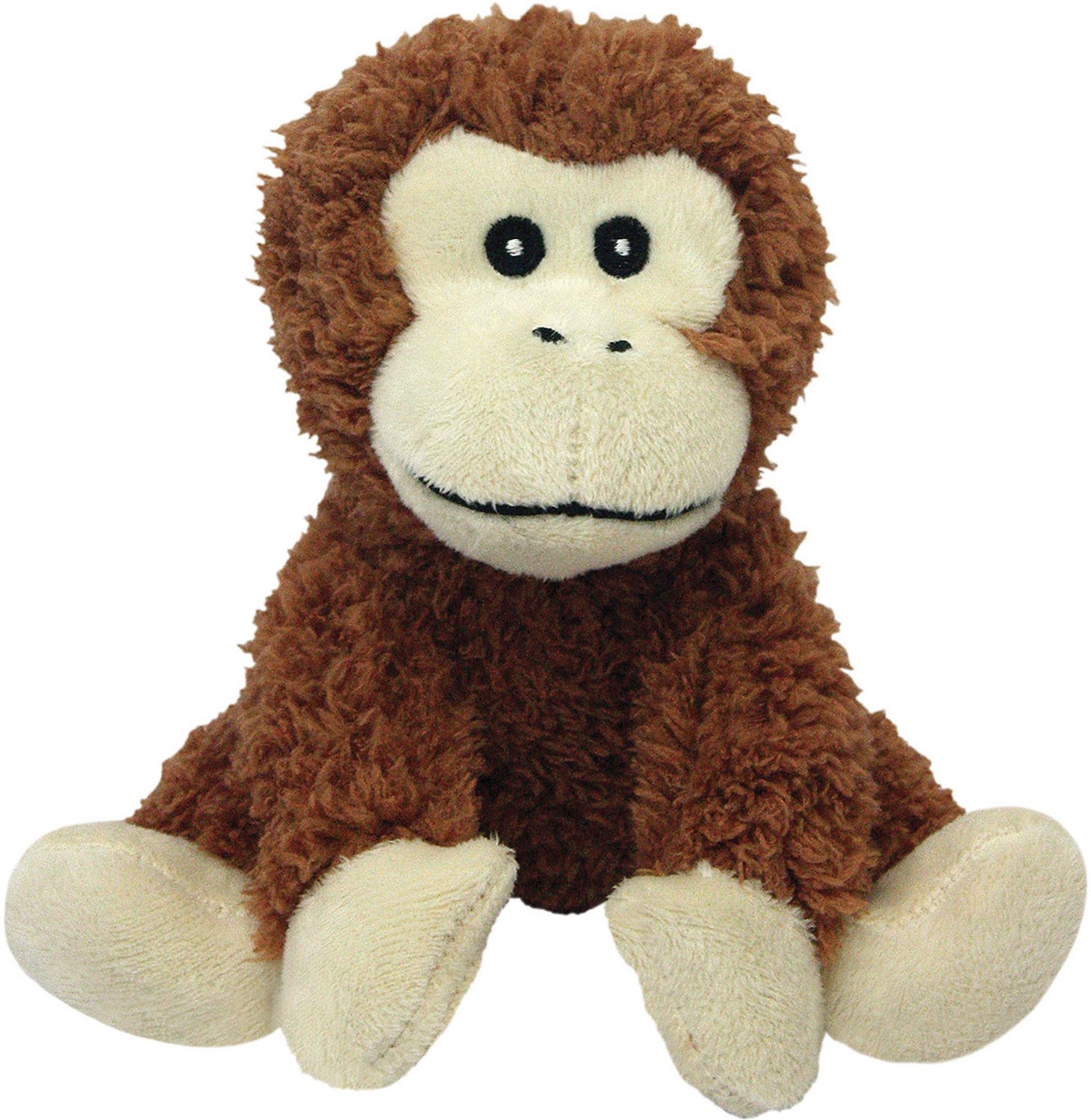 Multipet Look Who S Talking Monkey Plush Dog Toy Chewy Com