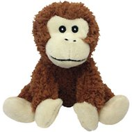 Multipet Look Who's Talking Monkey Plush Dog Toy