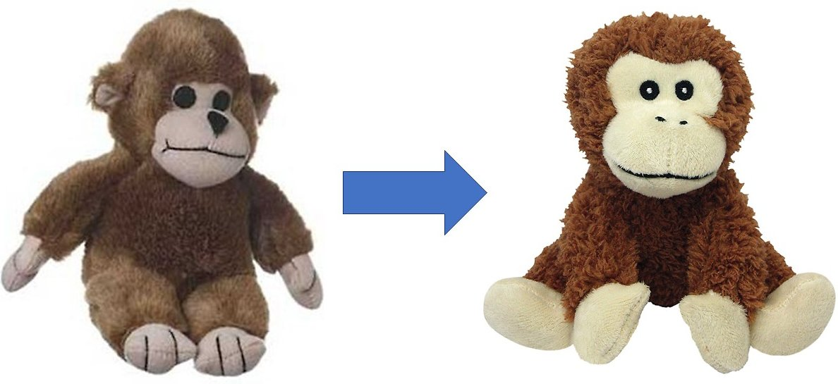 Multipet Look Who S Talking Plush Monkey Dog Toy