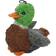 Multipet Look Who's Talking Duck Plush Dog Toy