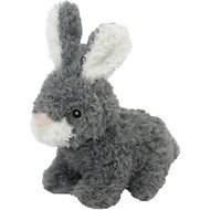 Multipet Look Who's Talking Rabbit Plush Dog Toy