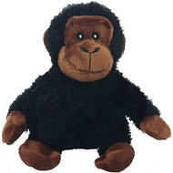 Multipet Look Who's Talking Chimpanzee Plush Dog Toy