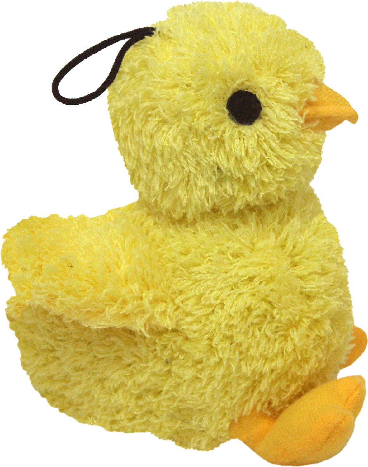 Multipet Look Whos Talking Chick Plush Dog Toy