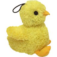 Multipet Look Who's Talking Chick Plush Dog Toy