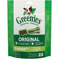 Greenies Teenie Dental Dog Treats, 22 count